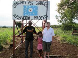 Sheila Webster visits Kunavelela
